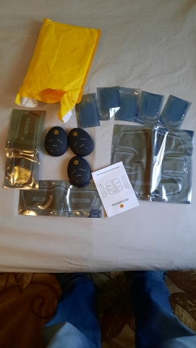 Wireless Muscle Stimulator Set photo review