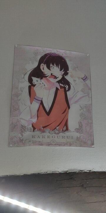 Canvas Painting Anime Posters Jabami Yumeko Kakegurui Gambling School Wall Art Picture for Living Room Decoration Home Deco photo review