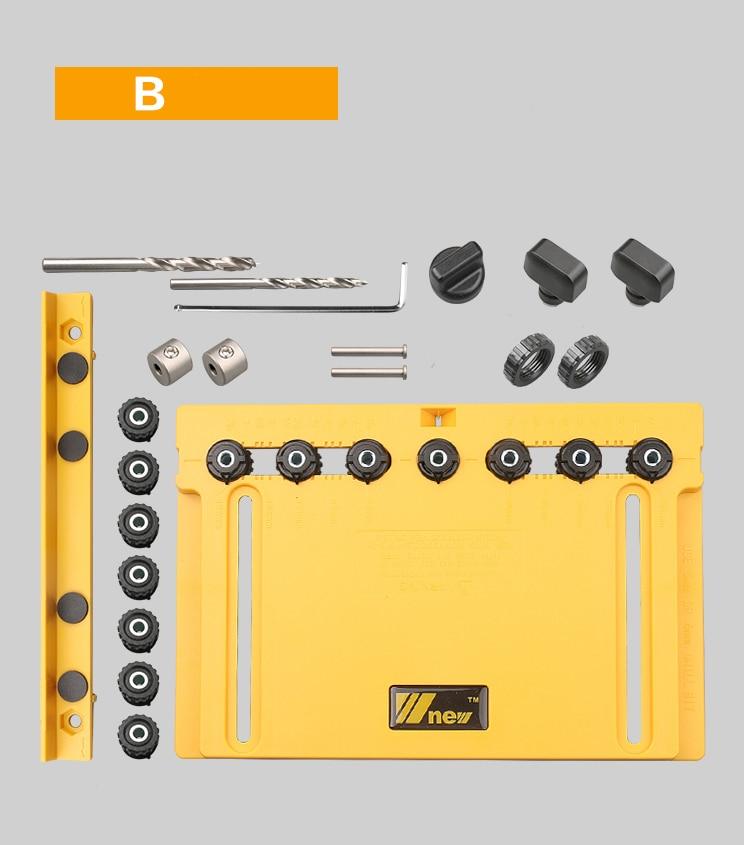 Купить с кэшбэком Handle, Knob and Pull Installation Jig and Shelf Pin Jig