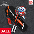 Outtobe 2PCS Badminton Schläger Set-Berufs Carbon Badminton Schläger mit 2 shuttlecocks und Tragetasche für Anfänger