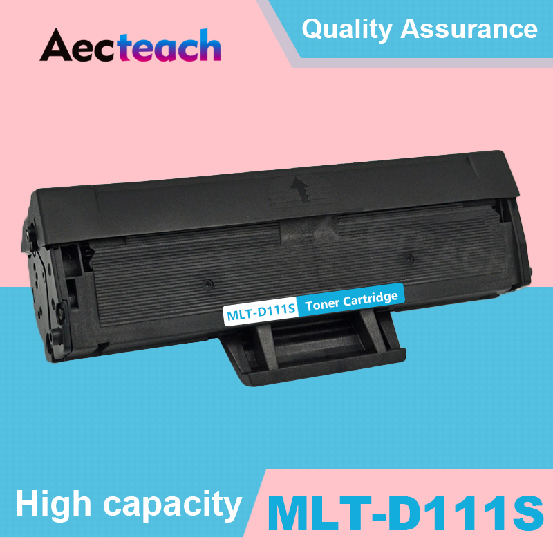 Aecteach Toner Cartridge MLT-D111S d111s 111S 111 For Samsung <font><b>Xpress</b></font> m2070 m2070fw m2071fh m2020 <font><b>m2020w</b></font> m2022 With Chips image