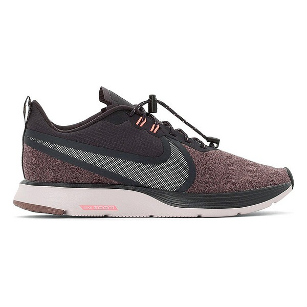 Running Shoes For Adults Nike ZOOM STRIKE 2 SHIELD Brown White Pink