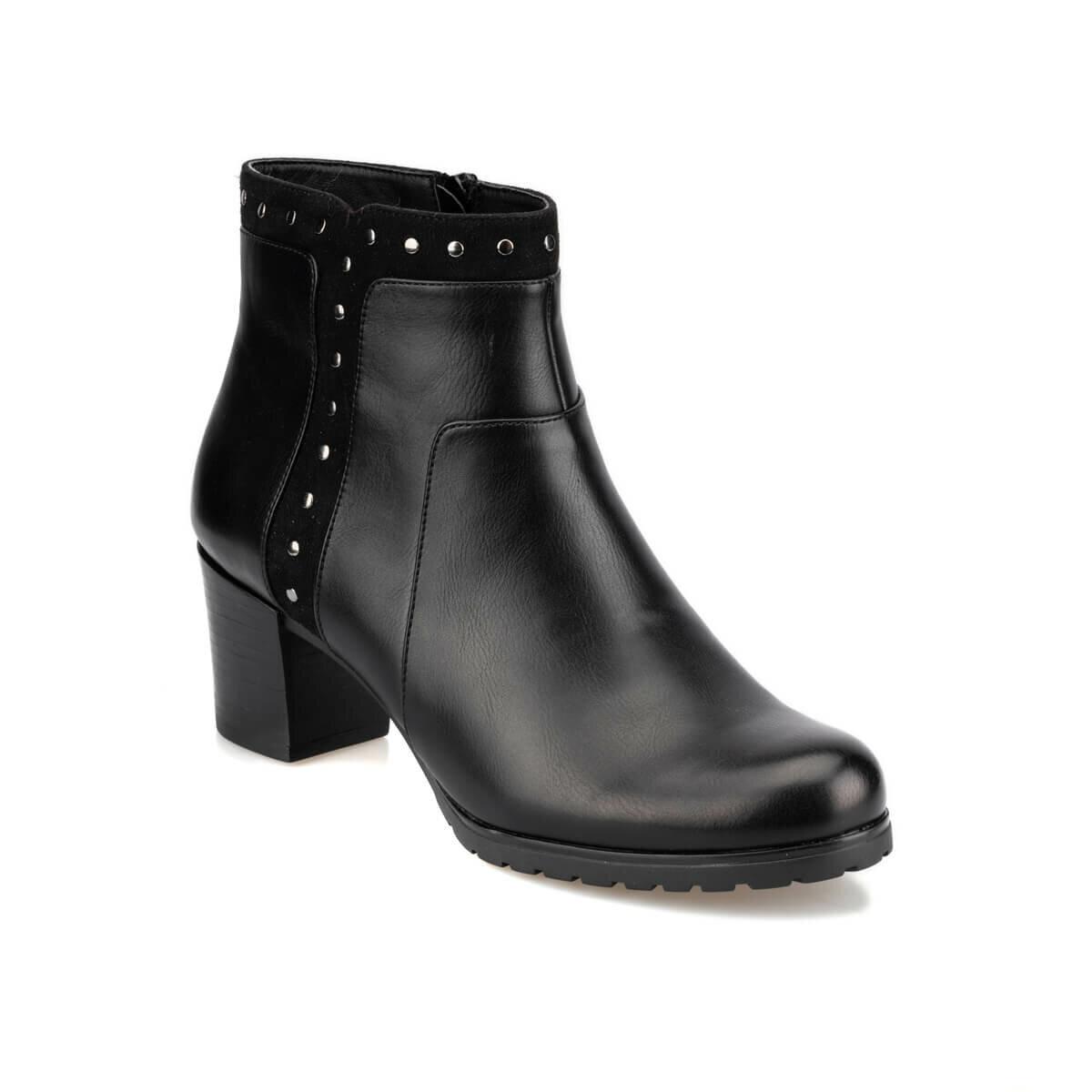 FLO 92.151134.Z Black Women Ökçeli Shoes Polaris
