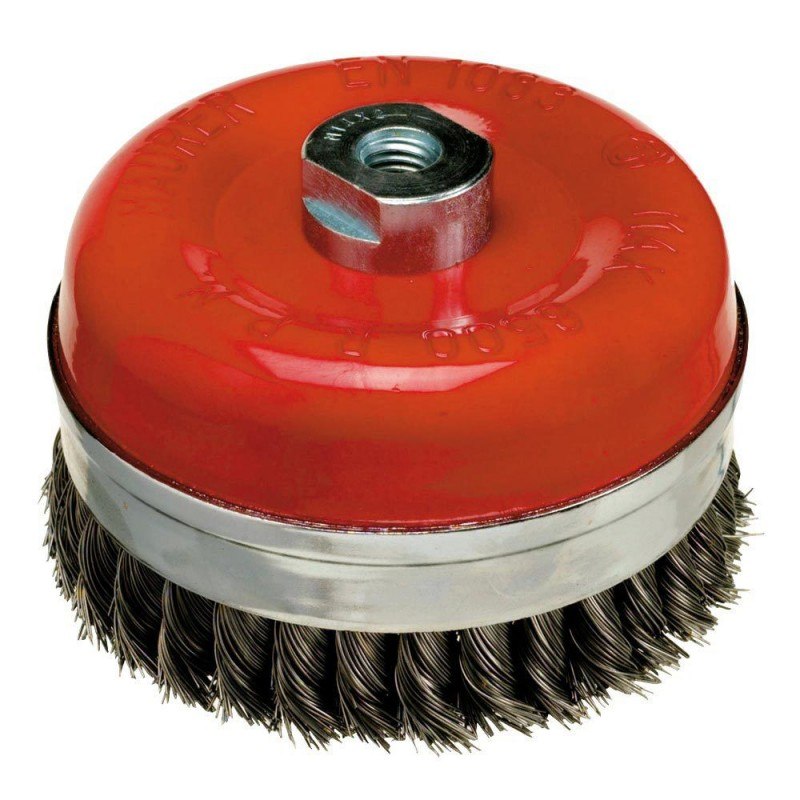 Steel Brush M14 Braided Cup 125x0,50mm.