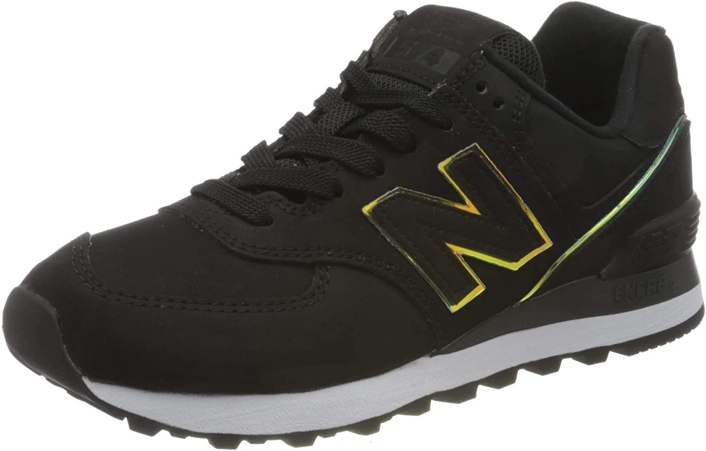 New Balance 574 WL574CLG Medium, sneakers woman, Black (Black CLG ...