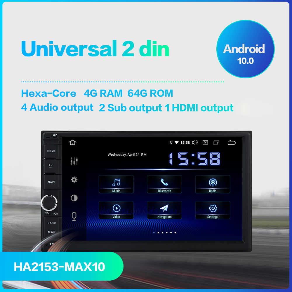 """Dasaita Android Universal Car 2 Din Radio 7 """"IPS Dello Schermo di Android 10.0 Stereo Multimediale di Navigazione per Nissan Built-in DSP"""