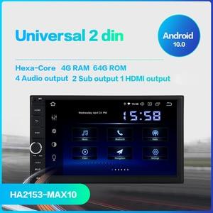 Image 3 - Dasaita Radio Universal con Android para coche, Radio con 2 Din, pantalla IPS de 7 pulgadas, Android 10,0, estéreo, navegación Multimedia para Nissan, DSP incorporado