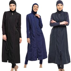 Argisa 7119 Extra Long Micro Sleeves Full Burkini Muslim Swimwear S-XXL Hijab Islamic Swimsuit fashion Turkey women Full cover()
