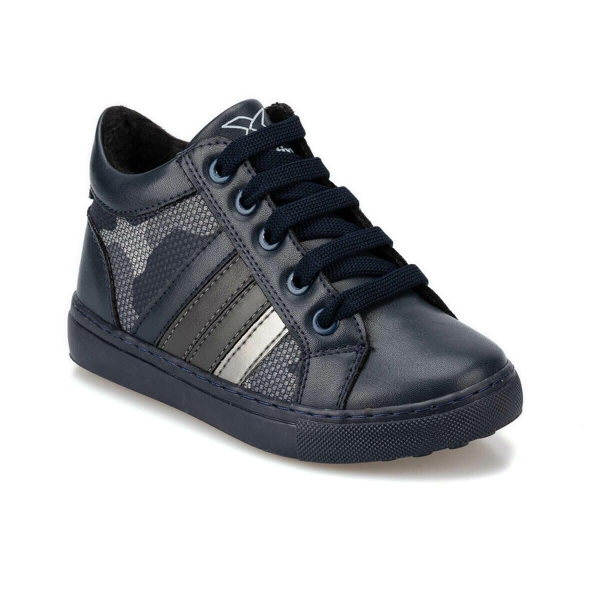 FLO SYNDRA 9PR Navy Blue Male Child Boots KINETIX
