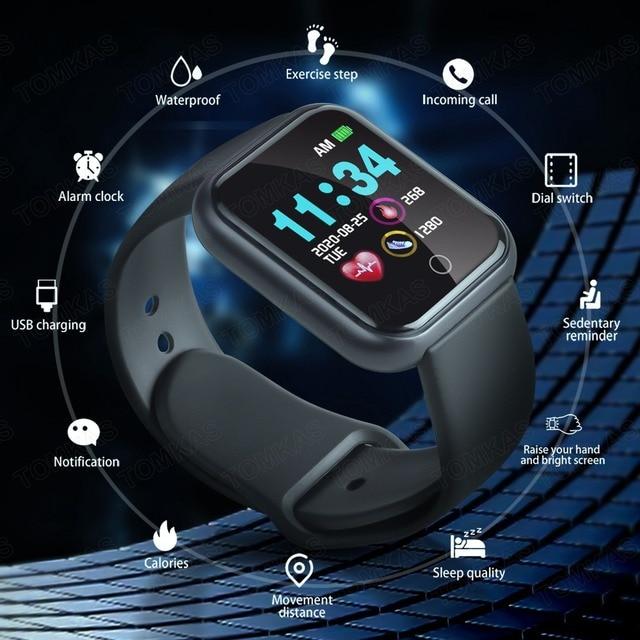 Smart Watch Men Women Smartwatch Android IOS Bluetooth Blood Heart Rate Monitor Fitness Bracelet Sport Wach Smart Watch 2020 2