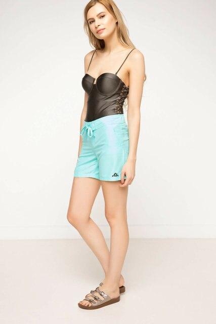 DeFacto Summer Woman Woven Swimming Short Female Casual Drawstring Shorts Ladies Pure Color Comfort Short Pants - G8560AZ17SM 6