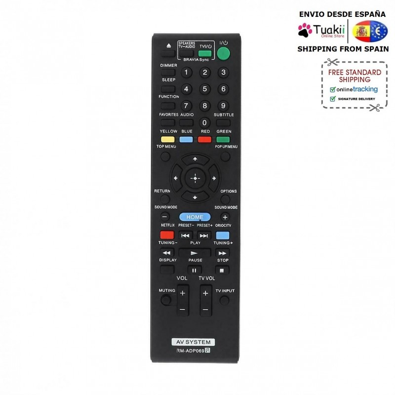 Remote controller Remote For TV Sony RM-ADP069 BDV-N790W image