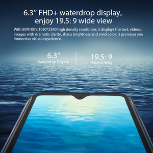 Image 4 - Blackview BV9100 IP68 su geçirmez cep telefonu 13000mAH 30W hızlı şarj 4G cep telefonu MTK6765 4GB + 64GB 16.0MP güçlendirilmiş akıllı telefon