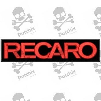 RECARO Iron Patch Toppa Ricamata Gestickter Patch Brode Remendo Bordado Parche Bordado