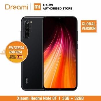 Купить Глобальная версия Xiaomi Redmi Note 8T 32 Гб ROM 3 Гб RAM (официальная Rom), note 8 t, note8t, note8 Мобильный смартфон, телефон, смартфон