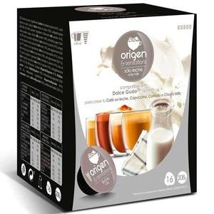 Milk, 16 capsules Origin sensation compatible Dolce Gusto