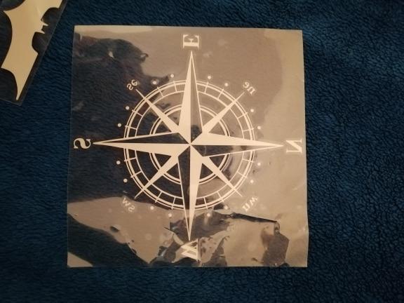 15cm*15cm Art Design Vinyl NSWE Compass Car Stickers Decals Black/Silver S6 3505|car stickers decals|silver car decalsvinyl car decal - AliExpress