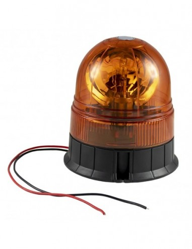 JBM 51962 ROTATING Warning Light WITHOUT CORD H1 12V 35W