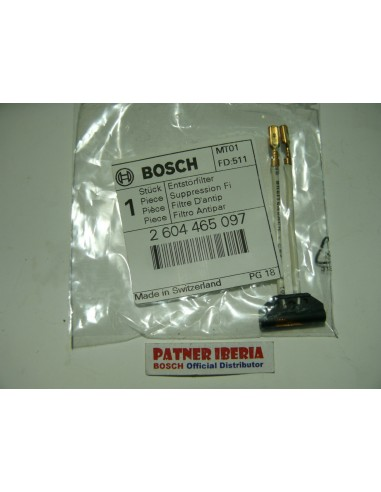 2604465097 Suppression Filter: Genuine BOSCH-SKIL-DREMEL Spare-part