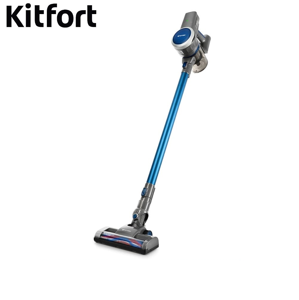 Vertical vacuum cleaner Kitfort KT-541 Wireless Vacuum cleaner for home Vertical Vacuum cleaner Wireless Vacuum cleaner vertical недорго, оригинальная цена
