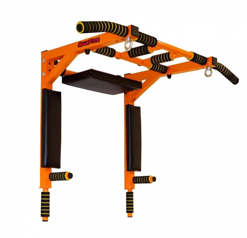 Horizontal Bar 3 In 1 Wall Bars Press Premium Orange