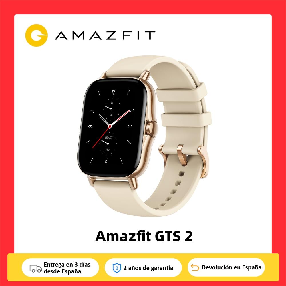 Amazfit GTS 2,Reloj inteligente,Pantalla AMOLED,Música,5ATM,Control del sueño,12 modos deporte exterior,Smartwatch android IOS|Relojes inteligentes| - AliExpress