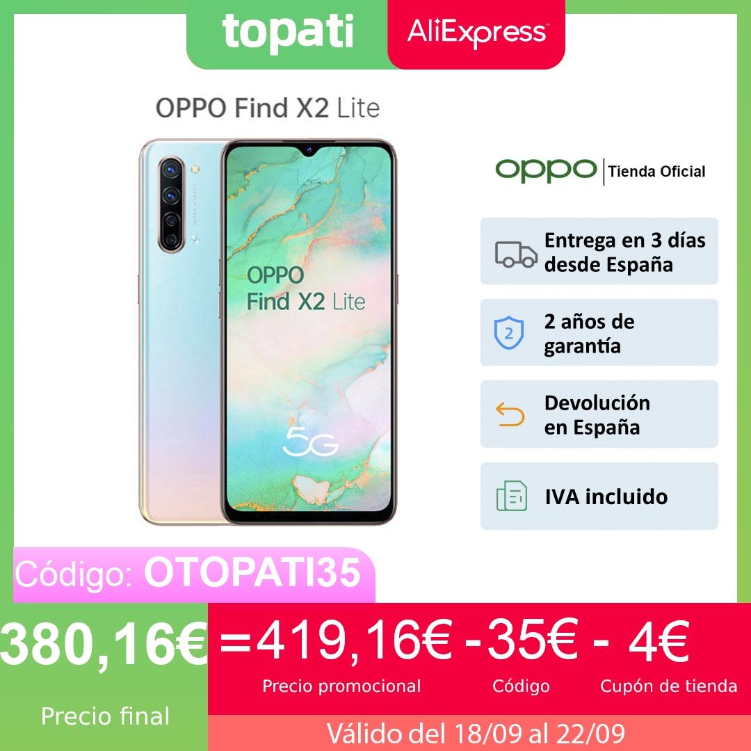 """OPPO Find X2 Lite 8GB/128GB, Smartphone, Pantalla 6.4"""", CPU Snapdragon 765G, ColorOS 7 (Android 10), 4025mAh, 2 Años de Garantía Teléfonos móviles  - AliExpress"""