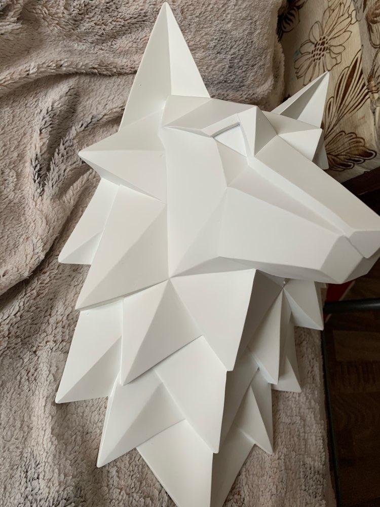 3D Nordic Wolf Sculpture photo review