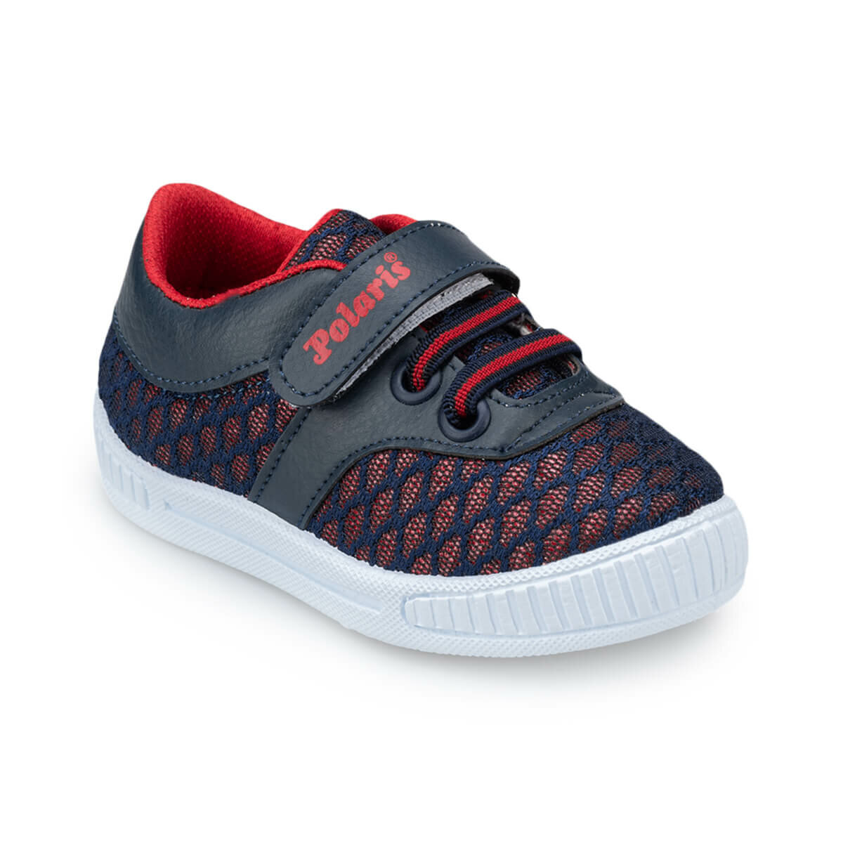 FLO 91.511066.B Red Male Child Sneaker Shoes Polaris