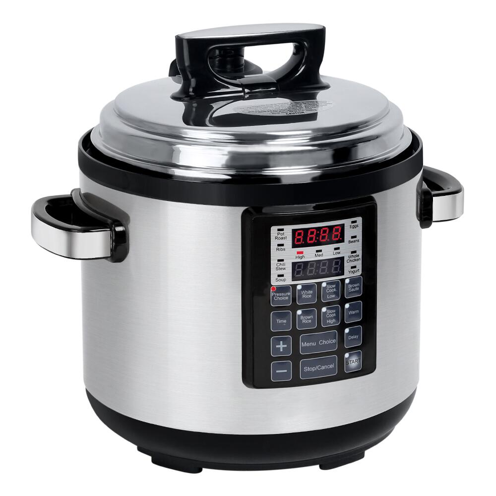6 Qt Electric Pressure Cooker 10-in-1 Multi-Use Programmable Pressure Cooker Rice  Stew Soup Porridge Cake Maker 2