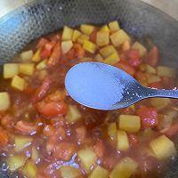冬季解馋又减肥的番茄土豆肥牛汤的做法图解12