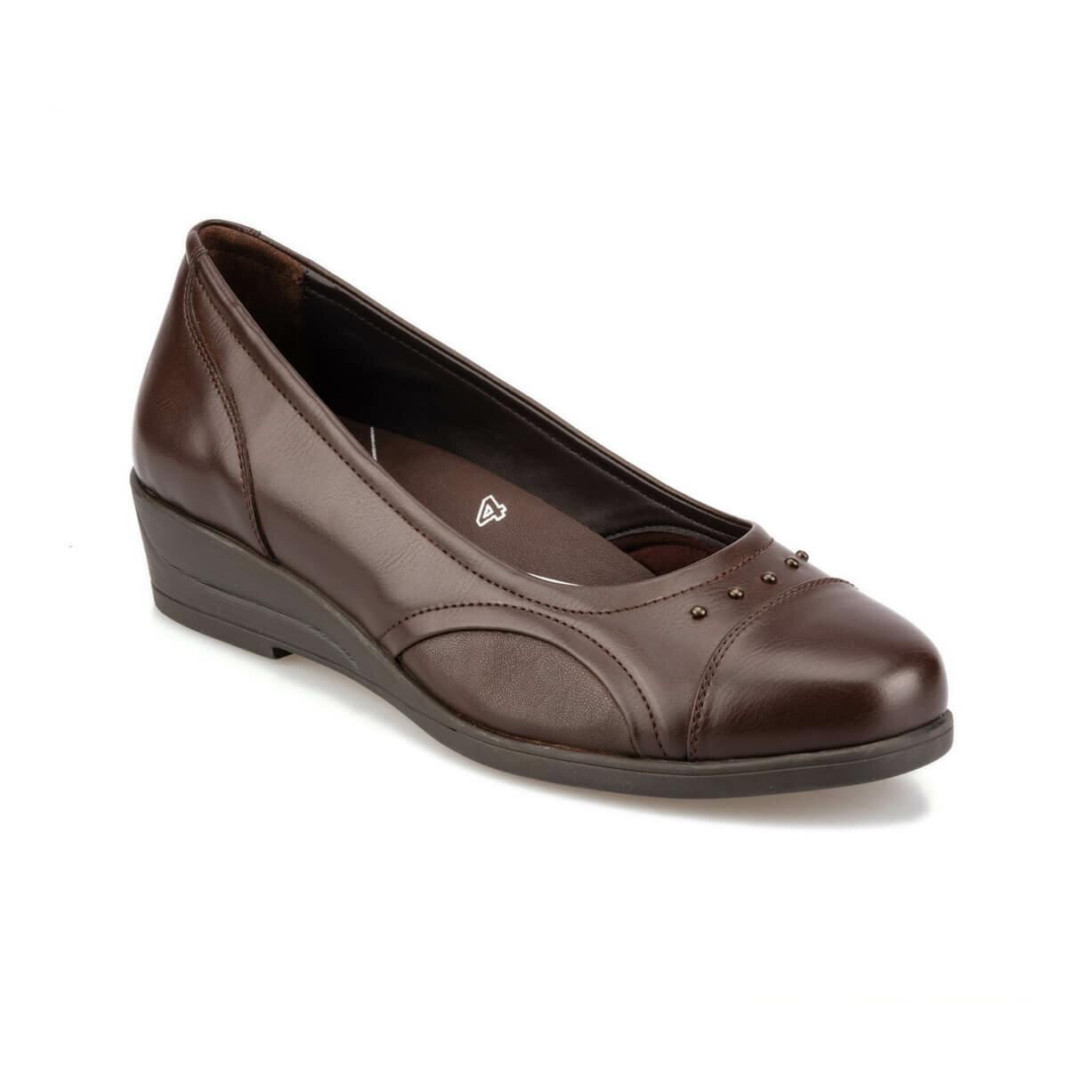 FLO 92.101025.Z Brown Women 'S Wedges Shoes Polaris 5 Point