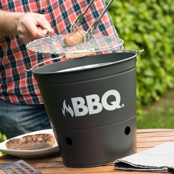 Seau à charbon de bois Barbecue
