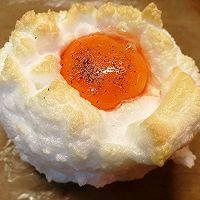 """#美食说出""""新年好""""#简单快捷好吃又营养健康&云朵鸡蛋的做法图解8"""