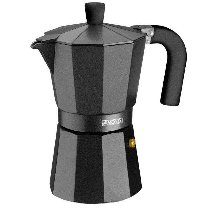 Italian Coffee Maker Monix Vitro Noir 9 Services