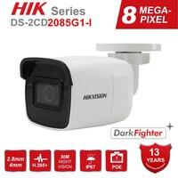 Hikvision Kamera 8MP 4K POE DS-2CD2085G1-I Outdoor Gewehrkugel Sicherheit IP Onvif CCTV Kamera Darkfighter IR 30m IP67 H.265