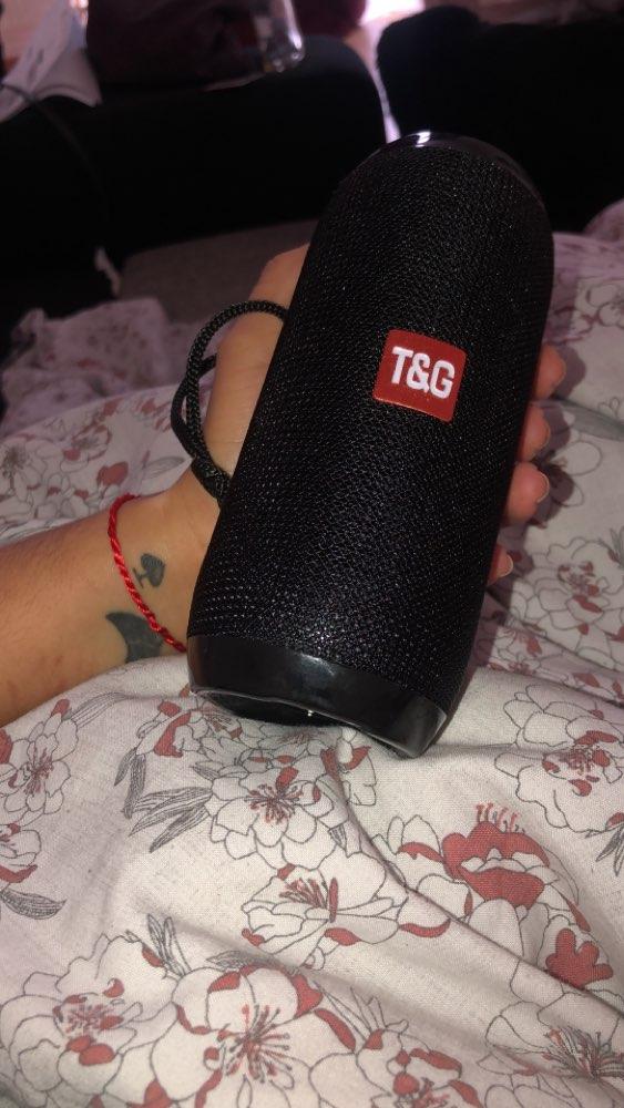 Bluetooth Speaker - 1200mAh Waterproof Portable Wireless, Micro-SD Port, FM Radio, Aux