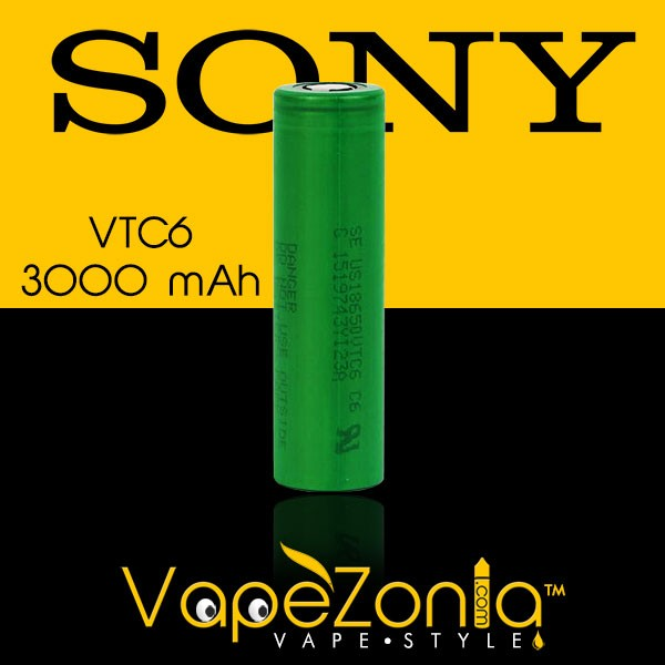 BATTERY SONY 18650 VTC6 3000 MAh