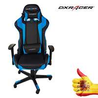 CHAIR Gaming DXRACER F SERIES OH/FE00/NB BLACK BLUE PC PS4 PS5 XBOX