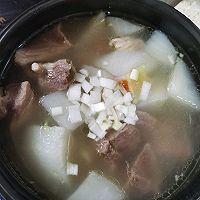 羊肉萝卜汤的做法图解5