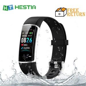 2020 smart wristband Smart Bracelet Blood Pressure Measurement Smart Band Fitness Tracker Heart Rate Monitor Bluetooth Reminder
