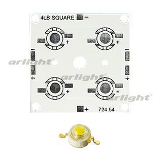 012513 Board 50x50-4e Emitter (4x Led, 724-54) Arlight 1-piece