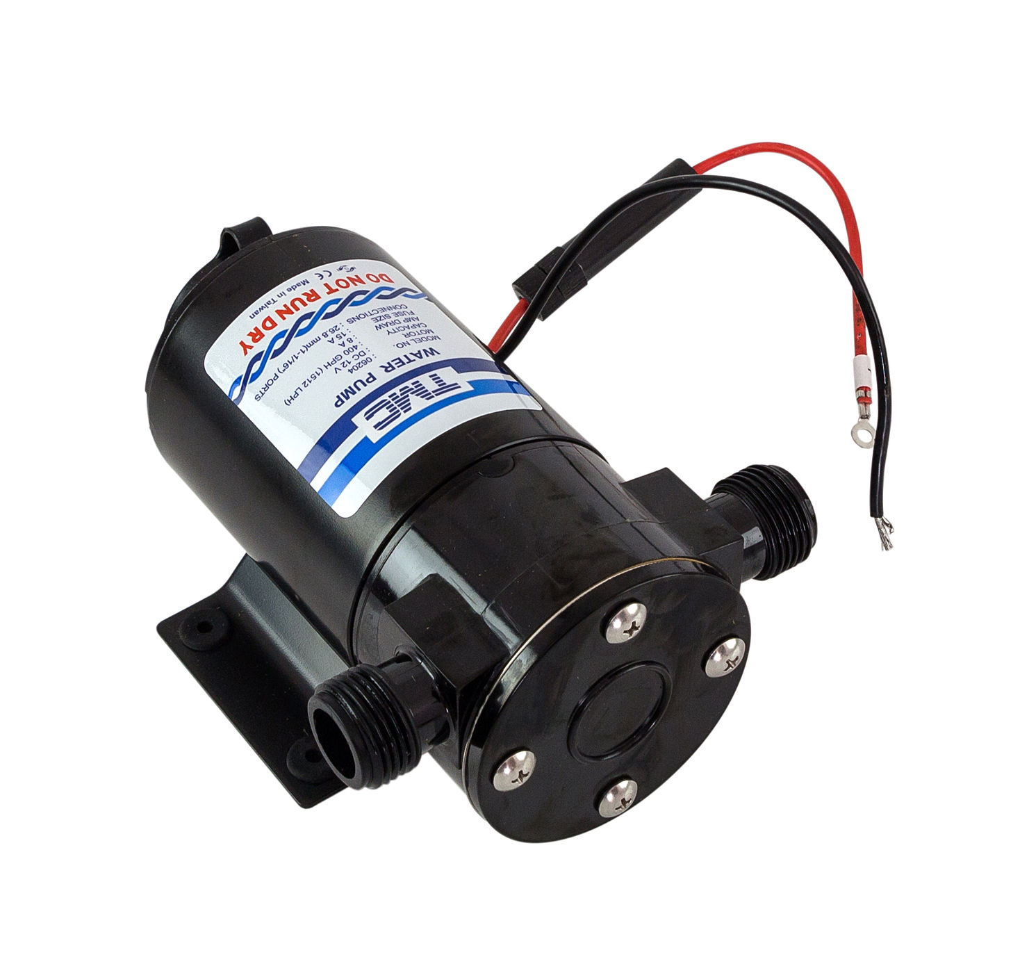 Water Supply Pump, 12v, 400gph (1514 L/h) 1006312