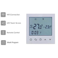Thermostat timer Wifi 16A programmable + thermal unit gauge for underfloor floor electrics
