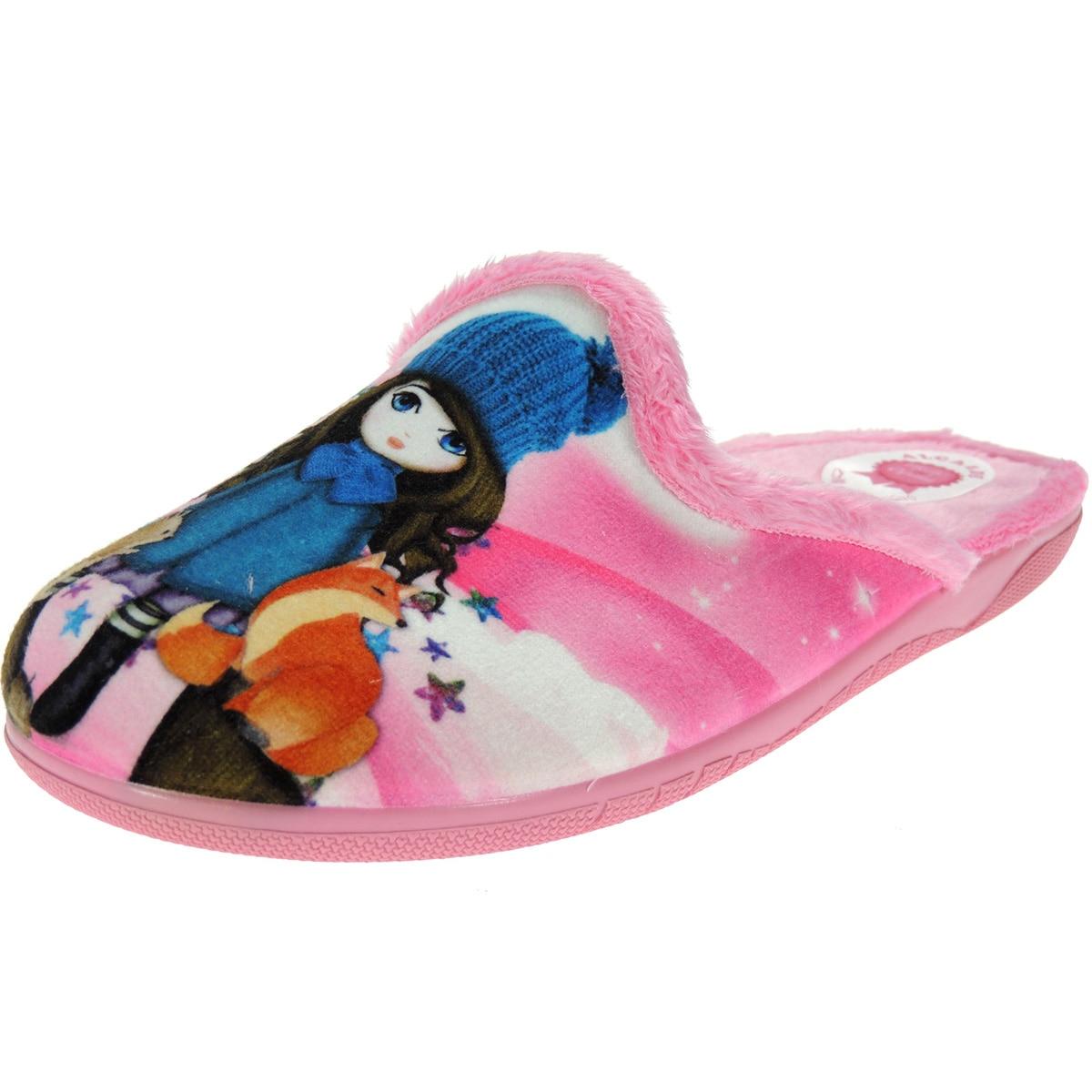 UTMOST 6075 Chinela Slipper Undercut House Winter Girl Fox And Squirrel For Girl