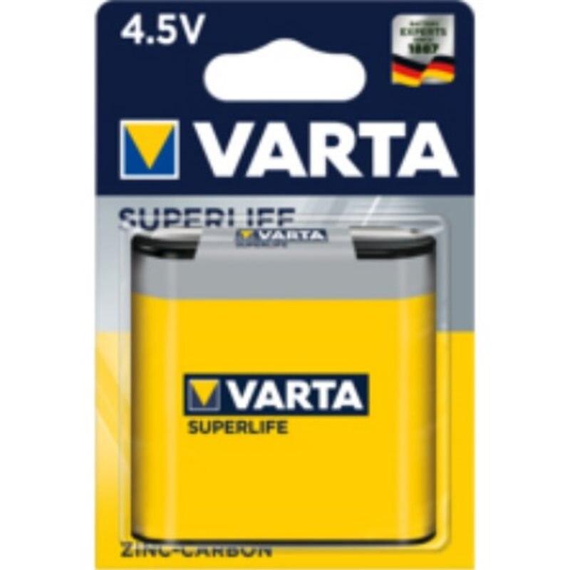 PILE SALINE 3R12 4,5V SUPERLIFE VARTA