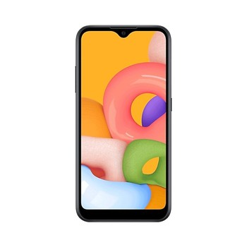 Перейти на Алиэкспресс и купить Samsung Galaxy A01-5,7 дюймHD + TFT - 2 + 16 GB экран (+ microSD )-Двойная камера 2 + 13 MP/5mp-аккумулятор 3000mAh