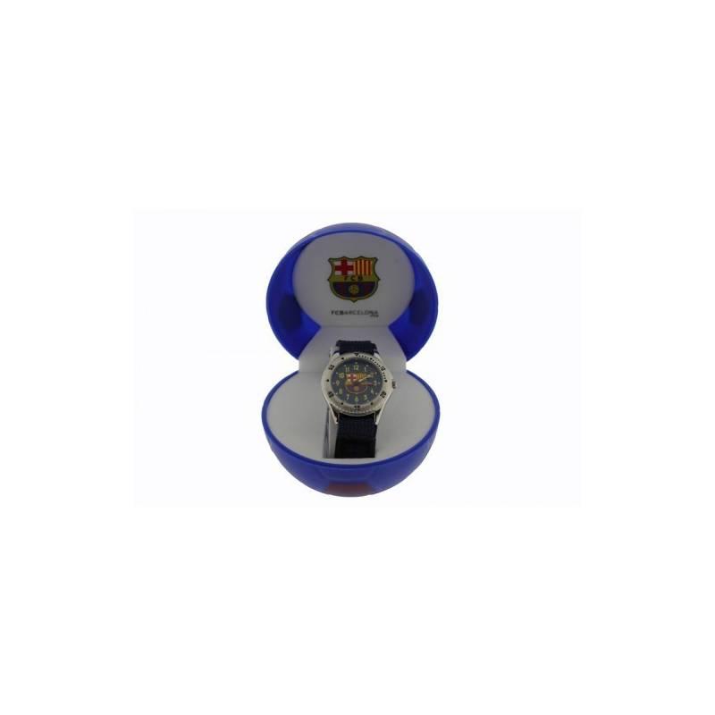 Wrist Watch FC Barcelona Knight Blue Velcro