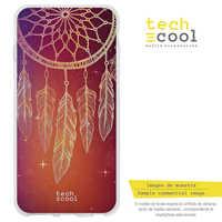 FunnyTech®Stand case Silicone for Xiaomi Redmi 6/Redmi 6A L Dreamcatcher fund Orange