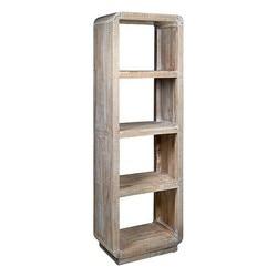 Półki (190x60x37 cm) Mindi wood na